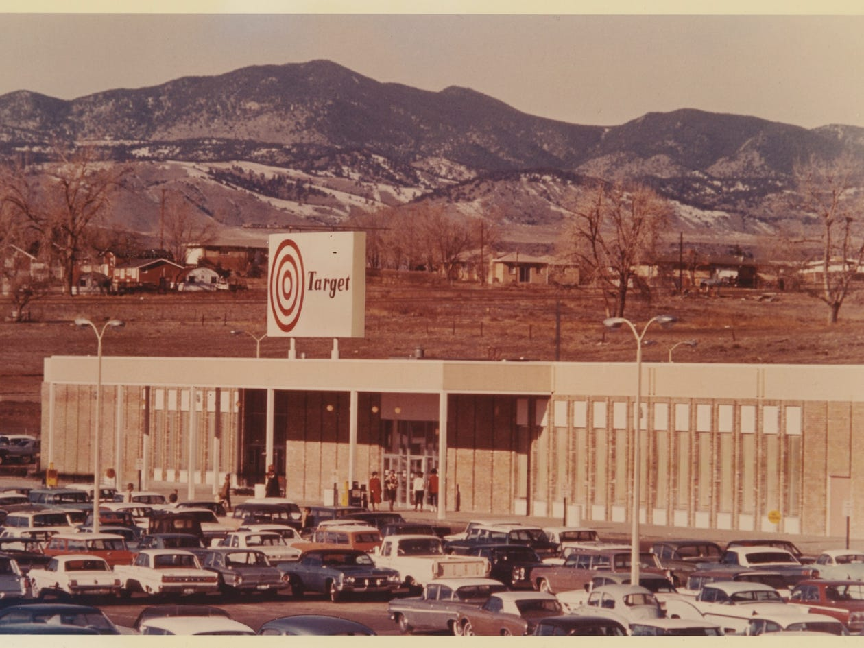one of the first target stores