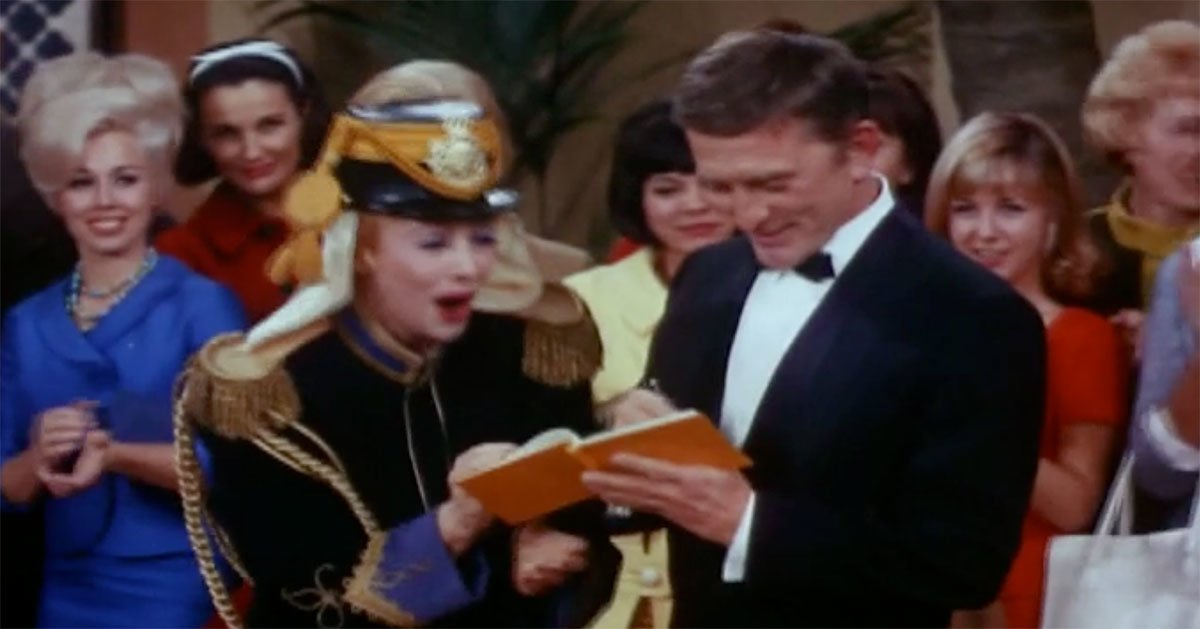 the lucy show lucille ball kirk douglas