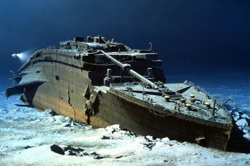 titanic wreck discovered