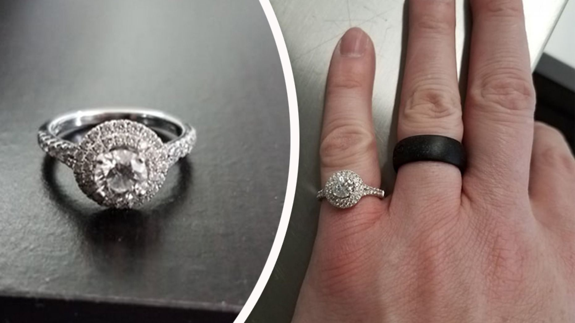Man Sets Out On Secret Search For Wife's Lost Wedding Ring — And He Finds It!