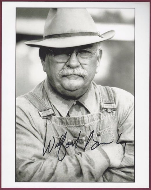 wilford brimley signed