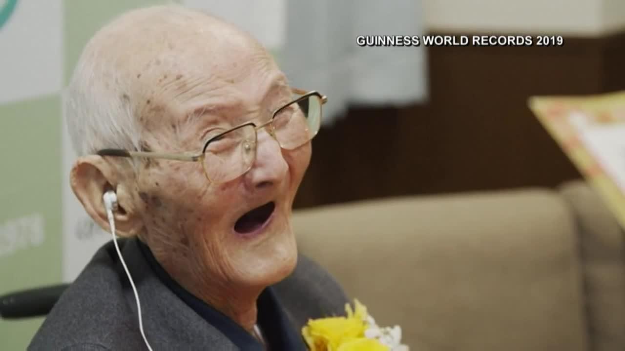 Chitetsu Watanabe worlds oldest man who believes in smiling