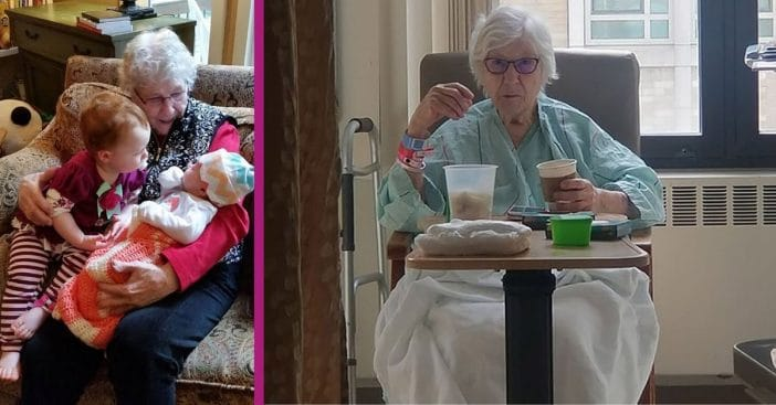 90-Year-Old Great-Great-Grandma Recovering From Coronavirus After Nearly Dying