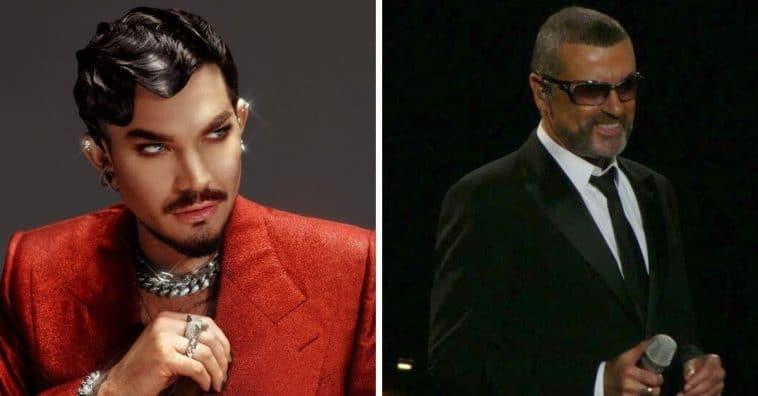 Adam Lambert wants to play George Michael in a biopic