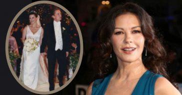 Catherine Zeta-Jones Allegedly Waited 20 Years To See Her Wedding Photos