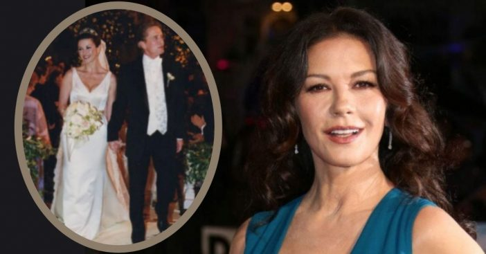 Catherine Zeta-Jones Allegedly Waited 20 Years To See Her Wedding Photos