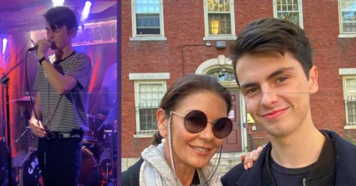 Catherine Zeta-Jones' Son Dylan Stuns With Incredible Singing Voice
