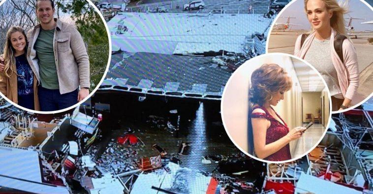 Celebrities come together to share messages of support after Nashville tornado
