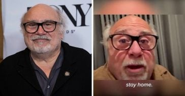 Danny DeVito Urges His Fans To Stay Home During The Coronavirus Outbreak