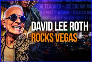 David Lee Roth's shows for House of Blues Las Vegas got postponed, but he's helping people make the best of it