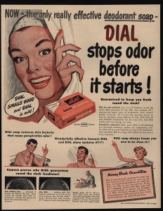 Dial claimed to stop odors before they could even form