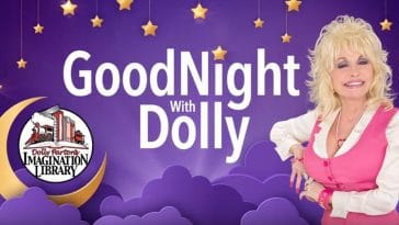 Dolly Parton will read childrens books in Goodnight With Dolly on YouTube