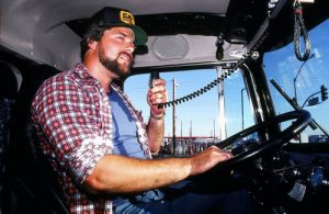 Drivers used the CB radio to find fuel, coordinate actions, and even plan blockades
