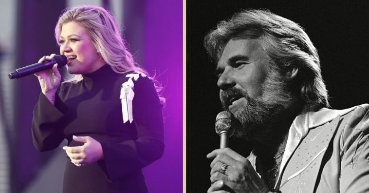 Even quarantined, Kelly Clarkson is honoring a legend