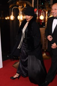 Even the venue at the Great Gatsby Gala perfectly matched Janet Jackson's themed outfit