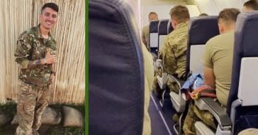 Exclusive Interview_ Soldier Who Sang _Take Me Home, Country Roads_ On Flight Home From Deployment