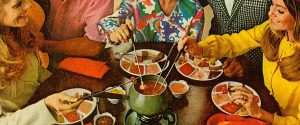 Foodies always wanted to share fondue with a friend