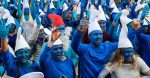 France saw thousands of Smurfs gather to receive Guinness World Record