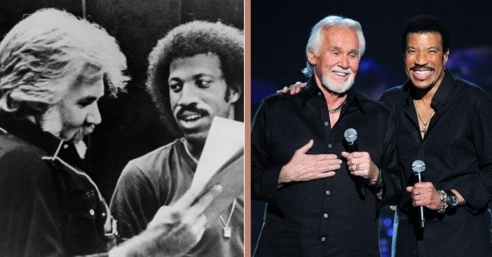 How Lionel Richie And Kenny Rogers Became The Best Of Friends (1)