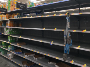 Hygiene is on everyone's mind thanks to the coronavirus and Walmart must maintain a steady supply