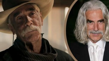If someone wanted to capture that rugged, western vibe they went to Sam Elliott
