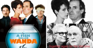 Jamie Lee Curtis Reunites With 'A Fish Called Wanda' Co-Star John Cleese (1)