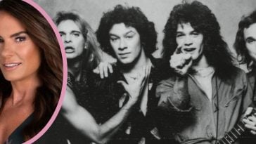 Janie Van Halen has excellent taste in music