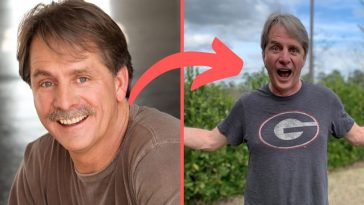 Jeff Foxworthy shaved his mustache for the first time in forty years