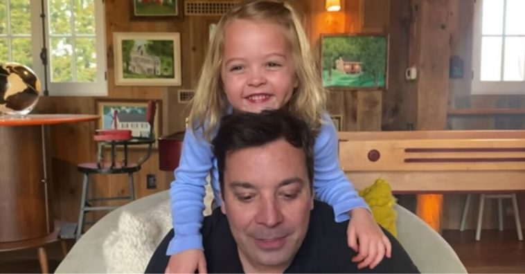 Jimmy Fallon is filming The Tonight Show at home
