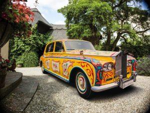 John Lennon's Rolls Royce Phantom V is a psychedelic tapestry