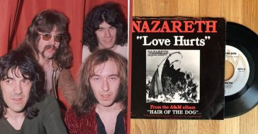 'Love Hurts' Sung By Cher, Roy Orbison, Everly Brothers, But The Unlikely Nazareth Did It Best (1)