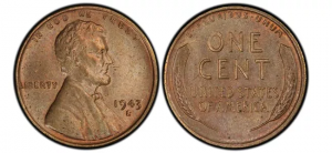 Made from several methods, this penny is one of five in total and really worth having