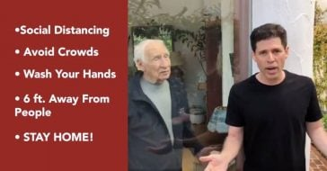 Mel Brooks And His Son Max Brooks Tell People _Don't Be A Spreader_ During Coronavirus