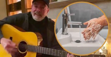 Neil Diamond Remakes _Sweet Caroline_ Coronavirus Version About Washing Your Hands (1)
