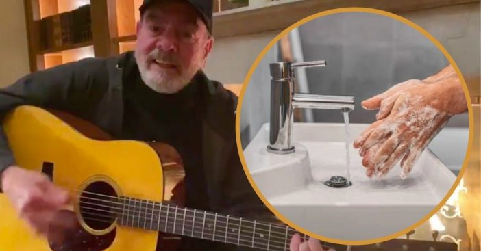Neil Diamond Remakes _Sweet Caroline_ Coronavirus Version About Washing Your Hands (1)