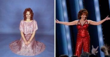 Nostalgic photos of Reba McEntire over the years