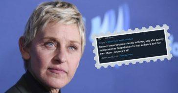People Share Surprisingly Not-So-Nice Stories About Ellen Degeneres