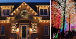 People putting back up Christmas lights to signal hope during coronavirus pandemic