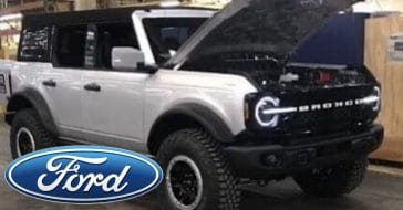 Photos Of The 2021 Ford Bronco Have Been Leaked And Car Enthusiasts Are Excited