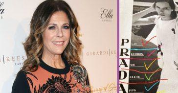 Rita Wilson Touts New Prada Ad Campaign 'Play Records, Delete Apps'