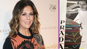 Rita Wilson Touts New Prada Ad Campaign 'Play Records, Delete Apps'