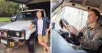 Robert Irwin Is Officially Learning To Drive — Using Late Father Steve's Car!