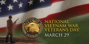 Several social media outlets shall have events, videos, and activities for veterans to stay engaged for National Vietnam War Veterans Day