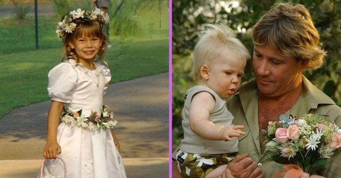 Terri Irwin shares throwback photos of her kids