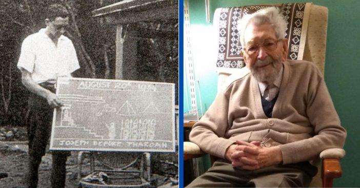 The World's Oldest Man Celebrates 112th Birthday