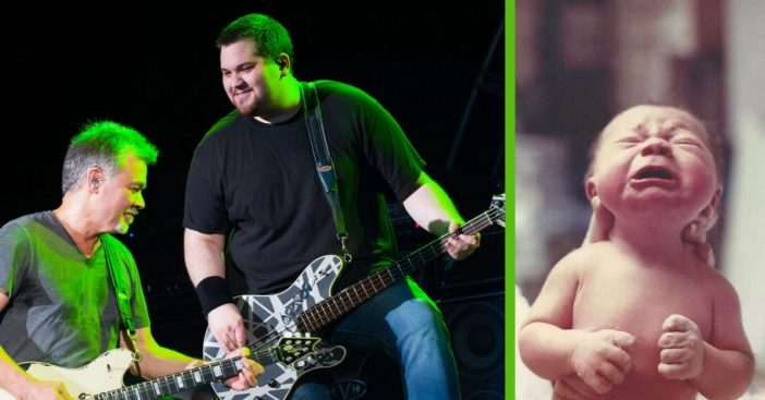 The day Wolfgang Van Halen was born was his father's happiest day