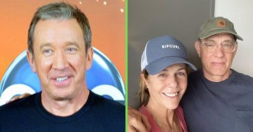Tim Allen makes Toy Story joke when sending get well wishes to Tom Hanks