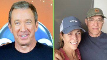 Tim Allen makes Toy Story joke when sending get well wishes to Tom Hanks