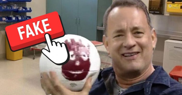 Tom Hanks Is NOT In Coronavirus Quarantine With Wilson, The Volleyball From 'Cast Away'