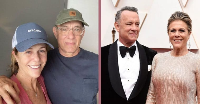 Tom Hanks shared an update with an uplifting reference